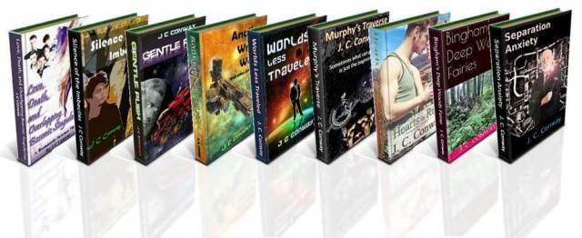 J C Conway Bookshelf 2