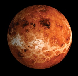 Artist's impression of the surface of Venus. Credit: ESA